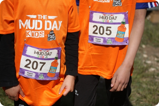 dossards the mud day kids fruitshoot the sporty family