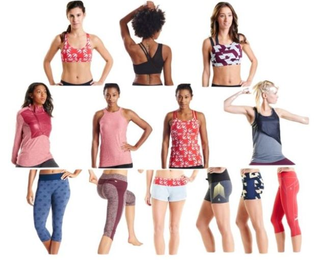 collection trop bottom bras Oiselle The Sporty Family