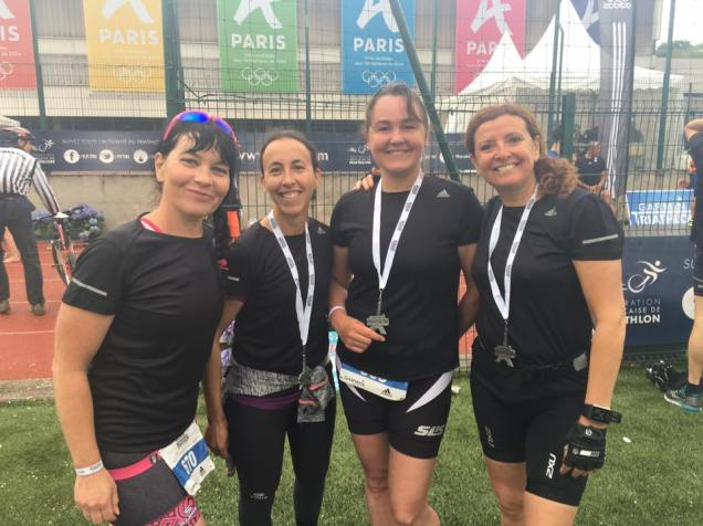 girls triathlon de Paris garmin The Sporty Family