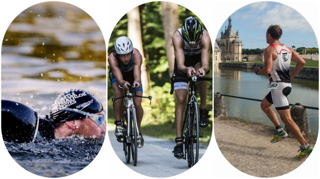 triathlon de chantilly aout 2017 the sporty family