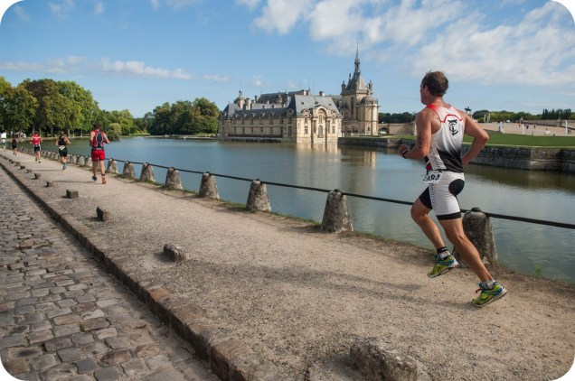 Triathlon de Chantilly - visuels d'ambiance château the sporty family
