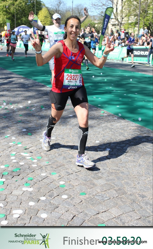 marathon de paris finisher requia the sporty family