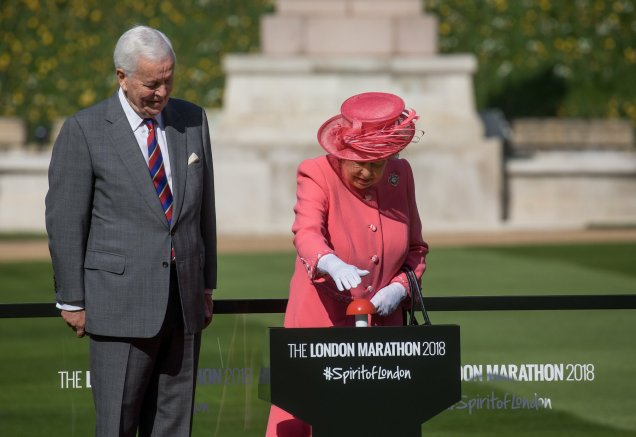 london marathon queen elisabeth