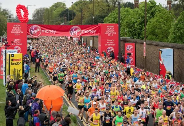 london virgin marathon the sporty family