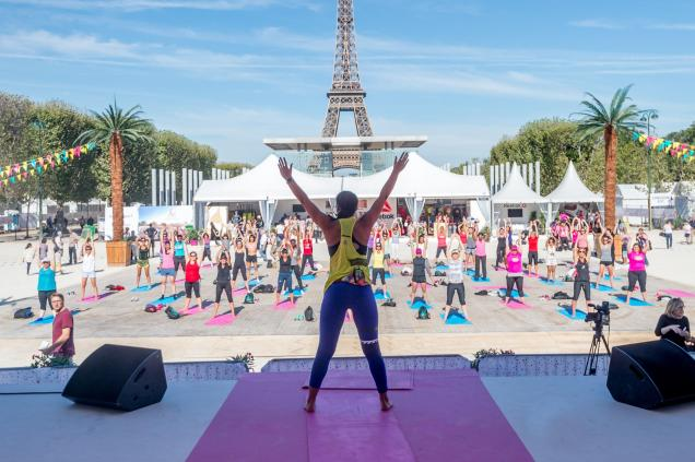 run and yoga la parisienne the sporty family